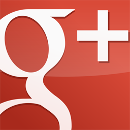 red, gloss, square, googleplus icon