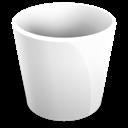 empty, trash, recycle bin, blank icon