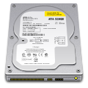 Internal Drive 320GB icon