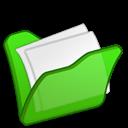 Folder, Green, Mydocuments icon