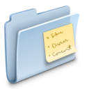 Notes Folder Badged icon