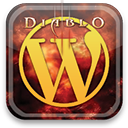 diablo, wordpress icon