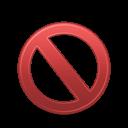 Banned, Forbidden icon