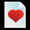 favourite, document icon