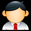 male, administrator, user, man, employee icon