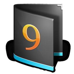 folder, alt, black, classic icon
