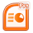file, powerpoint, document, ppt icon