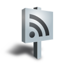 sign, rss, feed, grey icon