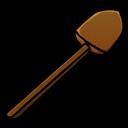 Shovel, Wooden icon