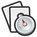 recent, paper, my recent, document, file icon