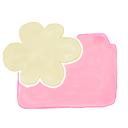 cloud, folder, candy, ak icon