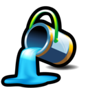 fill, bucket, color, paint icon