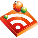 feed, christmas, subscribe, rss icon