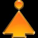 top, go icon