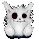 white, animal, rabbit icon
