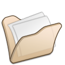folder beige mydocuments icon