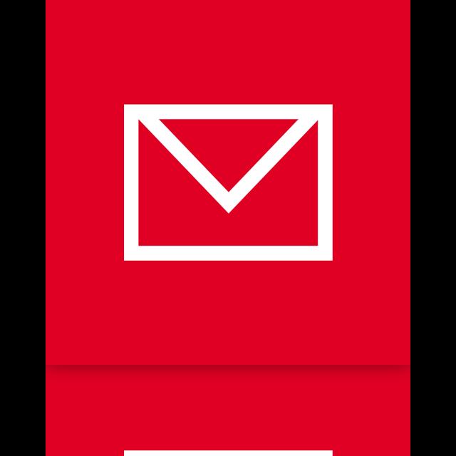 mirror, mail, alt icon