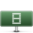 Movies Sign icon