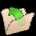 folder,beige,parent icon
