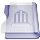 purple,library,book icon