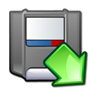 zip, mount icon