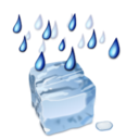 Status weather zing rain icon