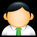 Administrator, Green, User icon
