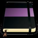 moleskine violet 512 icon