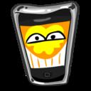 iphone,happy,funny icon
