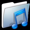 Graphite Smooth Folder Music icon