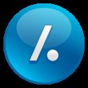 Slash Dot icon