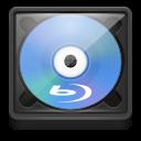 Blu, Media, Optical, Ray icon