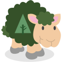 forrst, social network, sheep icon
