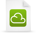 document, green, file, paper icon