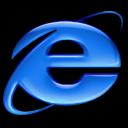 Application Internet Explorer aqua icon
