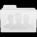 GroupFolder White icon