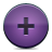Add, Button, Violet icon