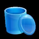 blue,recycle,bi icon