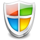 guard, protect, shield, vista, security icon