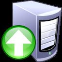 Server, Upload icon