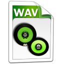 wav, audio icon