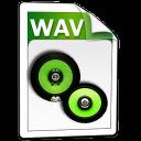 wav, audio icon