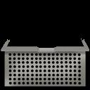 basket, stacks icon