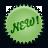 green, new, splash icon