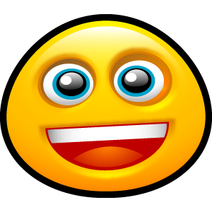 grin, emotion, face, emot, funny, smile, smiley, fun, happy icon