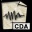 audio, gnome, mime, cda icon