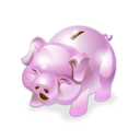 accounting, piggy bank, money icon