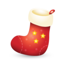 xmas,christmas,sock icon