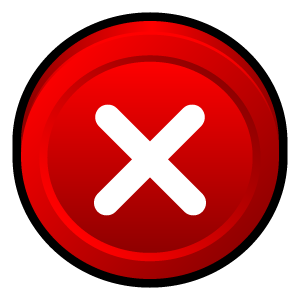 program, close, stop, cancel, badge, no, window icon