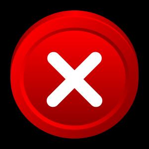 program, close, stop, cancel, badge, no, window icon